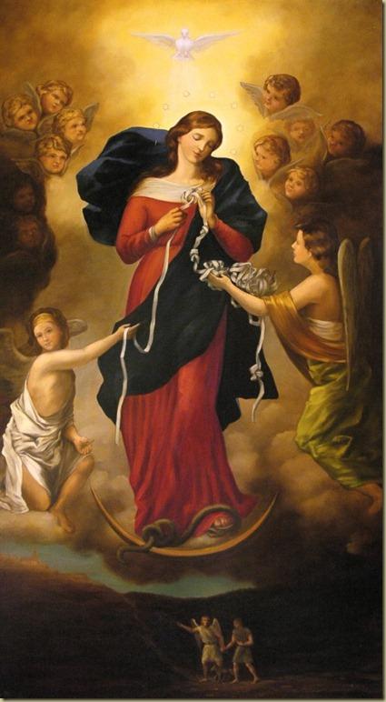 Matka Boska Rozwiązująca Węzły